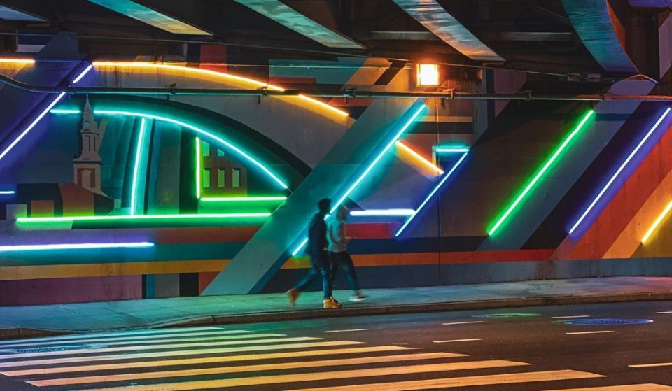Take A Look At The New Mural That's Lighting Up Center City