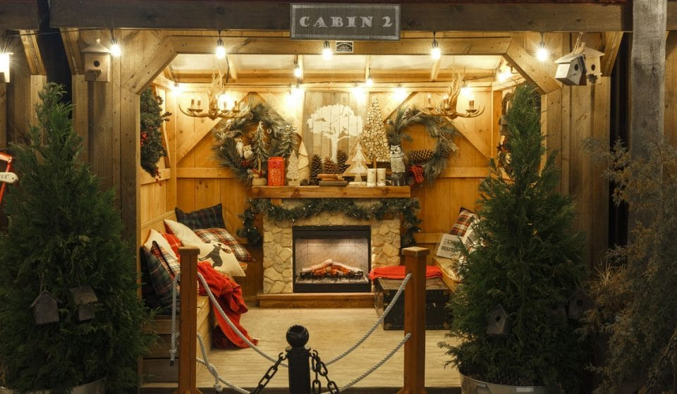 Cozy Up In An Adorable Cabin At Delaware River Waterfront's Winterfest