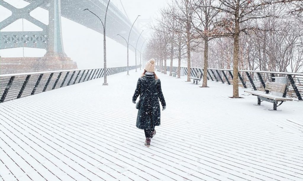 12 Stunning Shots of Philly Under Blankets Of Snow