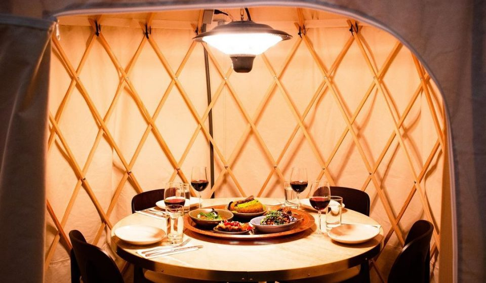 This Old City Restaurant Has Set Up The Cutest Yurts For Outdoor Dining