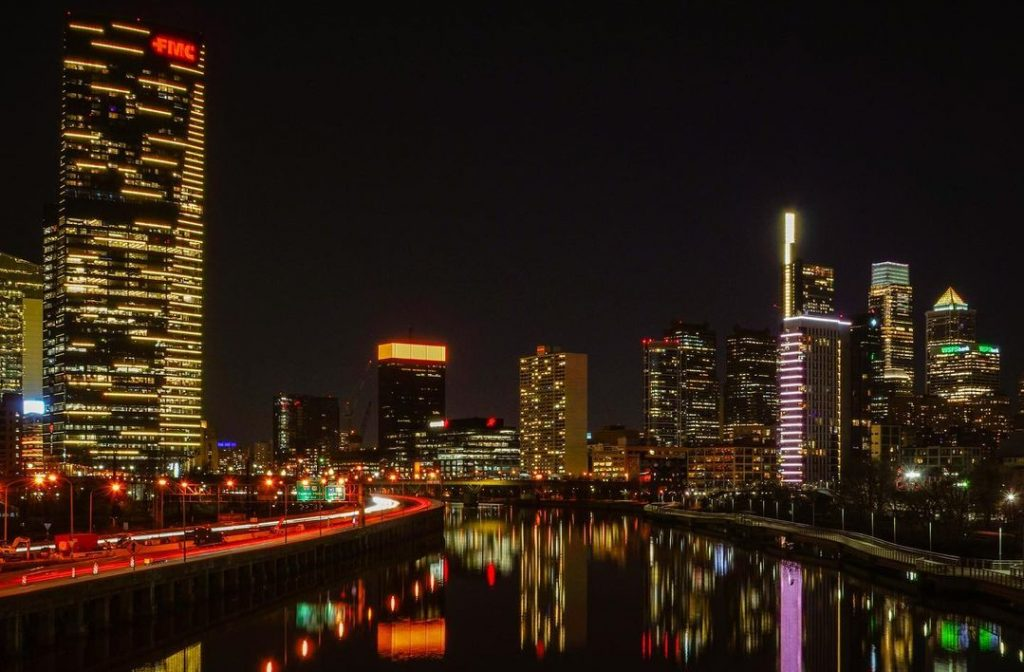 Philly Buildings Lit Up Last Night In Nationwide COVID-19 Memorial