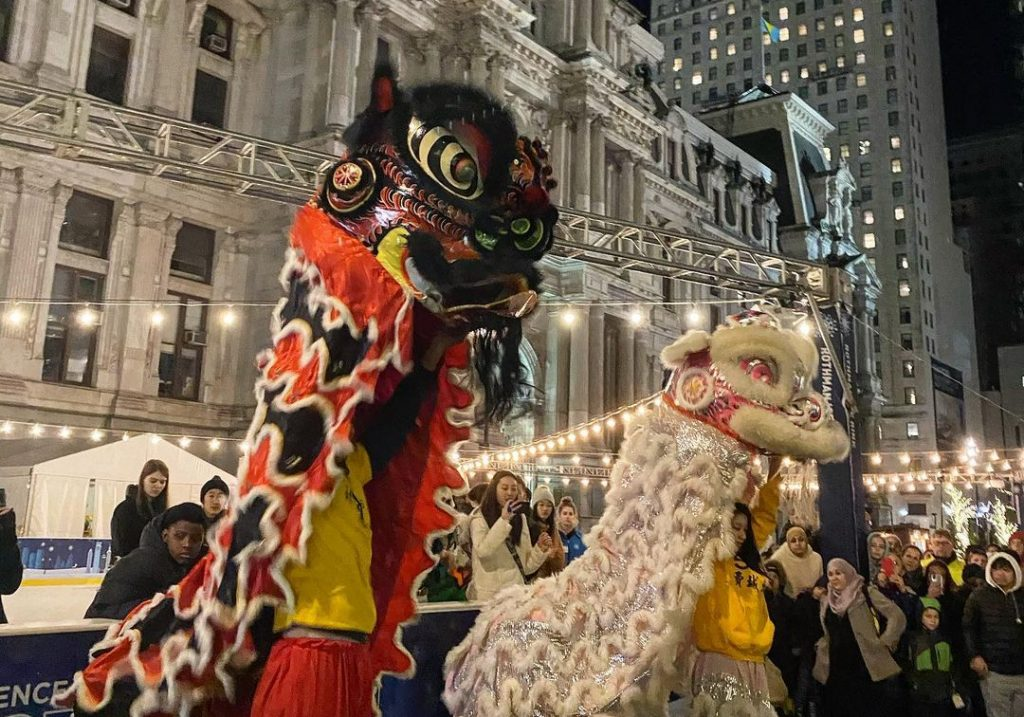Dilworth Park Is Ringing In The Lunar New Year With A Socially Distant Party