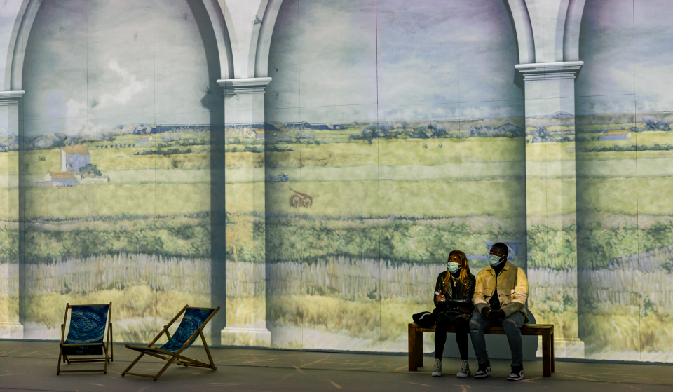Philadelphia's Spectacular Van Gogh Immersive Experience Is Now Open