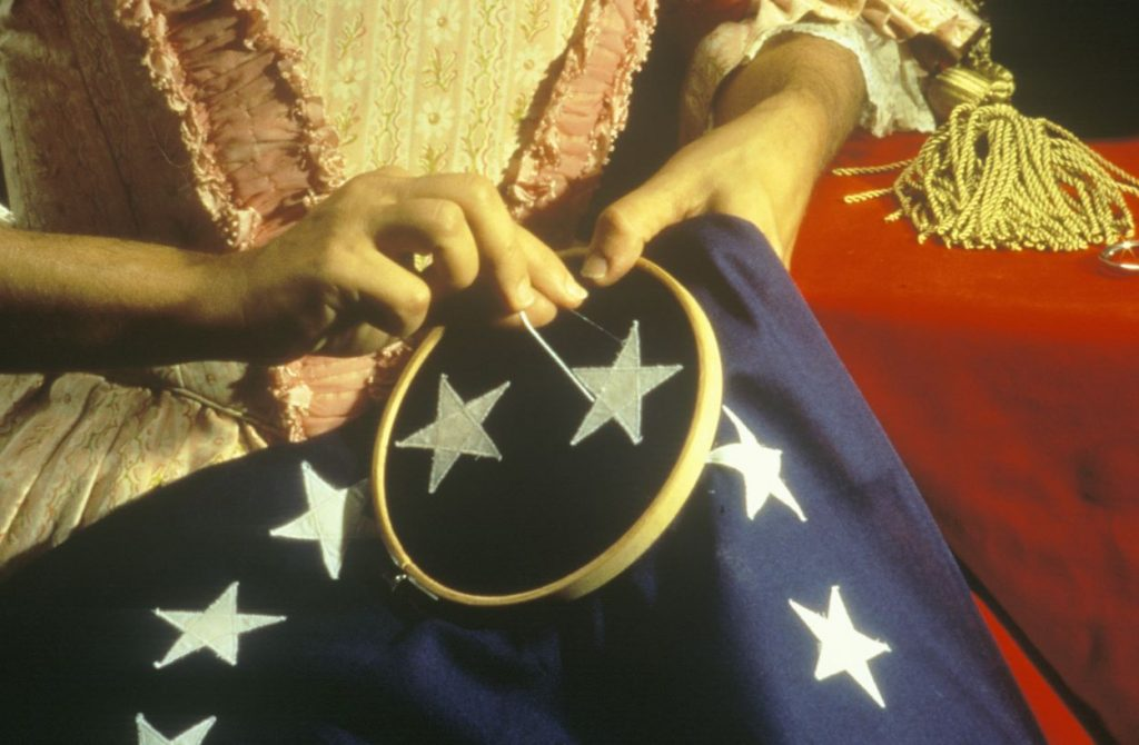Meet Betsy Ross: The Philadelphia Upholsterer Said To Have Made The First United States Flag