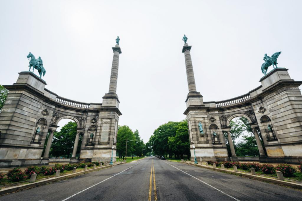 This Impressive Monument In Fairmount Park Holds One Of Philadelphia's Most Interesting Secrets