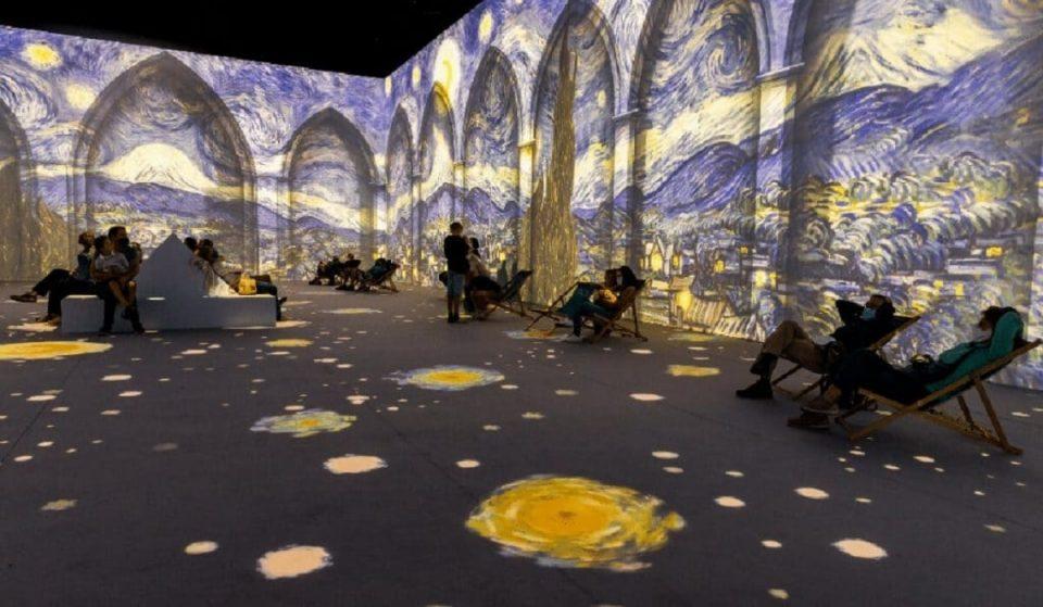 Europe's Popular Immersive Van Gogh Exhibit Is Finally In Philadelphia