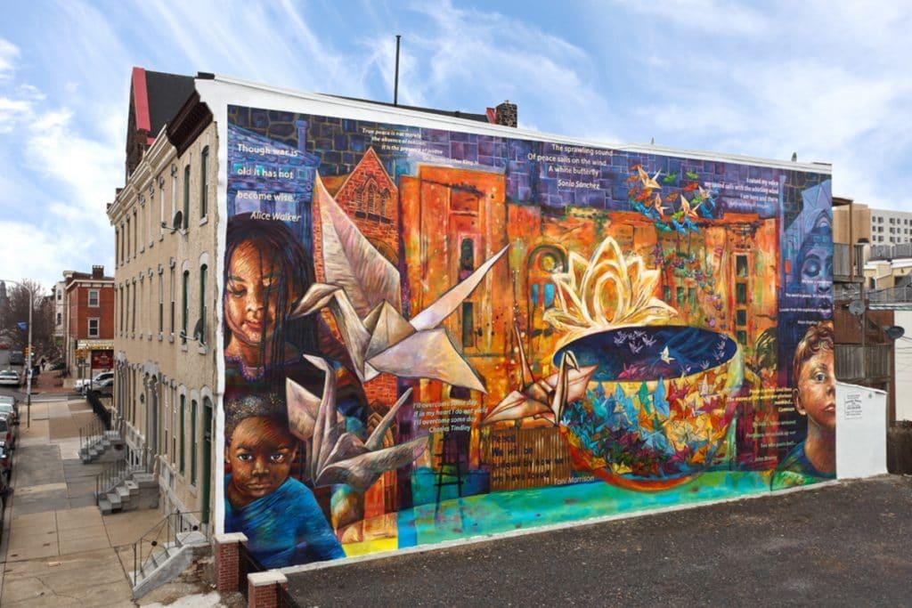 8 Stunning Murals Celebrating Women In Philadelphia