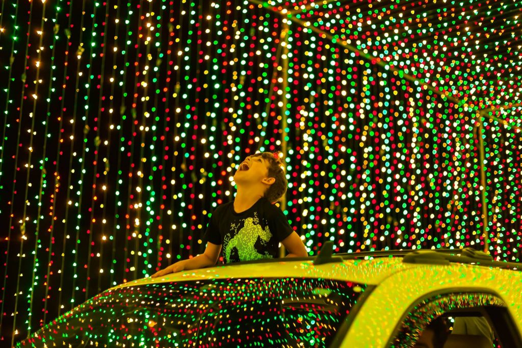 Experience The World's Largest Animated Drive-Thru Light Show At World Of Illumination
