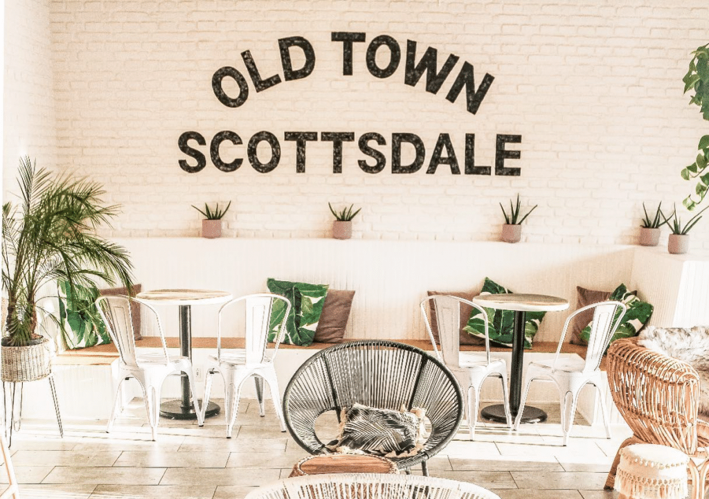 There's A Wine Bar In Scottsdale With Major Boho Cali Vibes Serving 12 Wines On Tap ⦁ Wine Girl