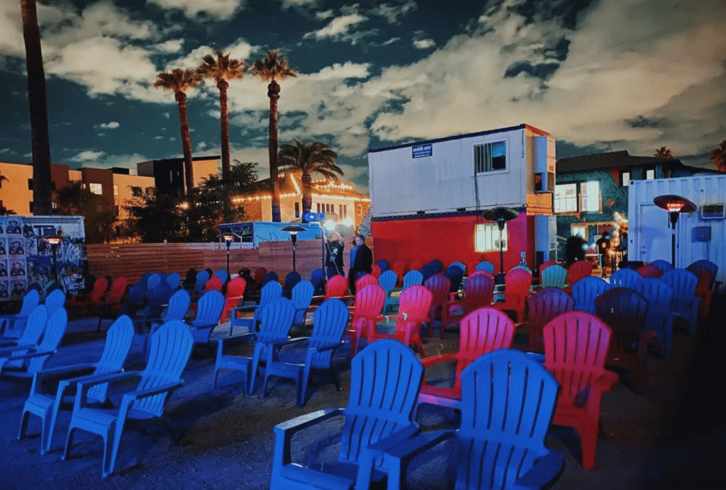 FilmBar's New Outdoor Theater In Roosevelt Row Is A Total Downtown Oasis