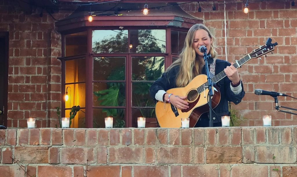 A Local Couple Has Turned Their Porch Into A Socially Distanced Concert Venue