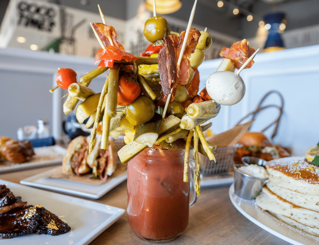AZ's Biggest Bloody Mary Bar Also Serves Giant Mimosas And Alcoholic Capri Suns