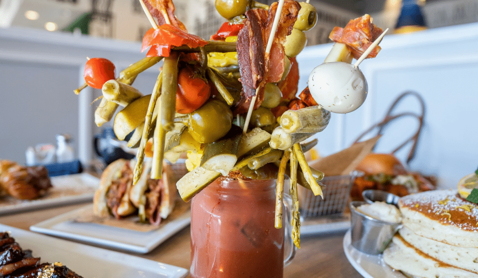AZ's Biggest Bloody Mary Bar Also Serves Giant Mimosas And Alcoholic Capri Suns