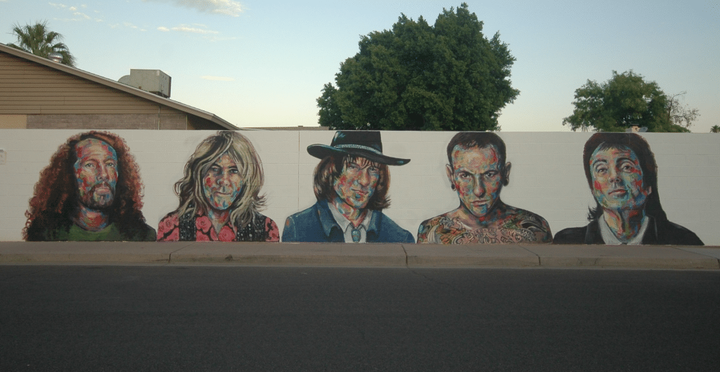Two More Musicians Will Be Added To Tempe's Rockstar Mural