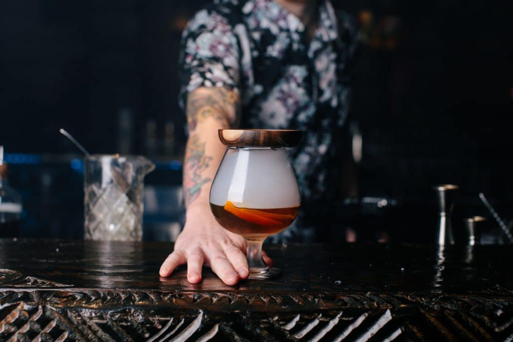 This Awesome 'Smoking Cannon' Cocktail Is Temporarily Back On The Menu At UnderTow's New Pop-Up Bar