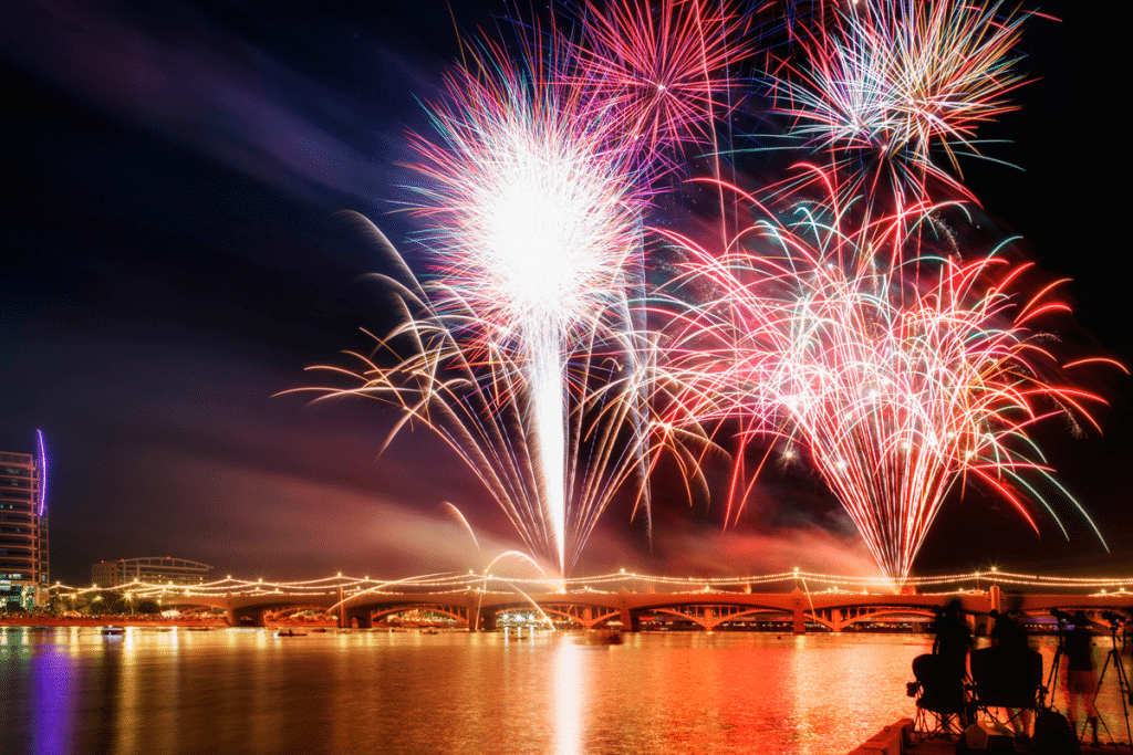 Where To Watch 4th Of July Fireworks In And Around Phoenix