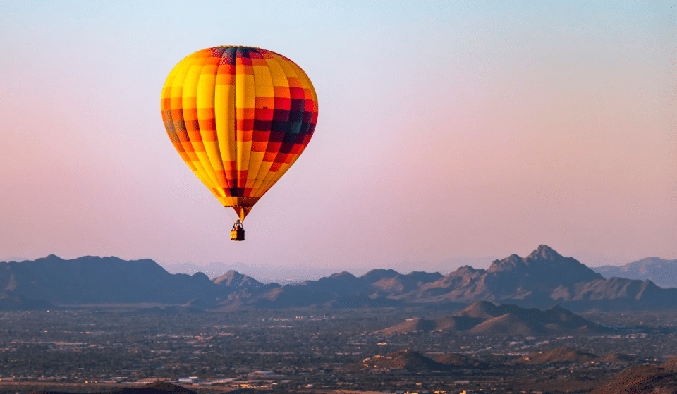 Enjoy Phoenix From The Sky In These Breathtaking Hot Air Balloon Rides
