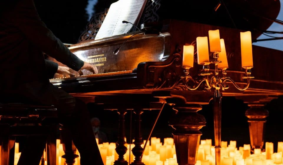 A Roma potrai ascoltare le colonne sonore di film magici a lume di candela