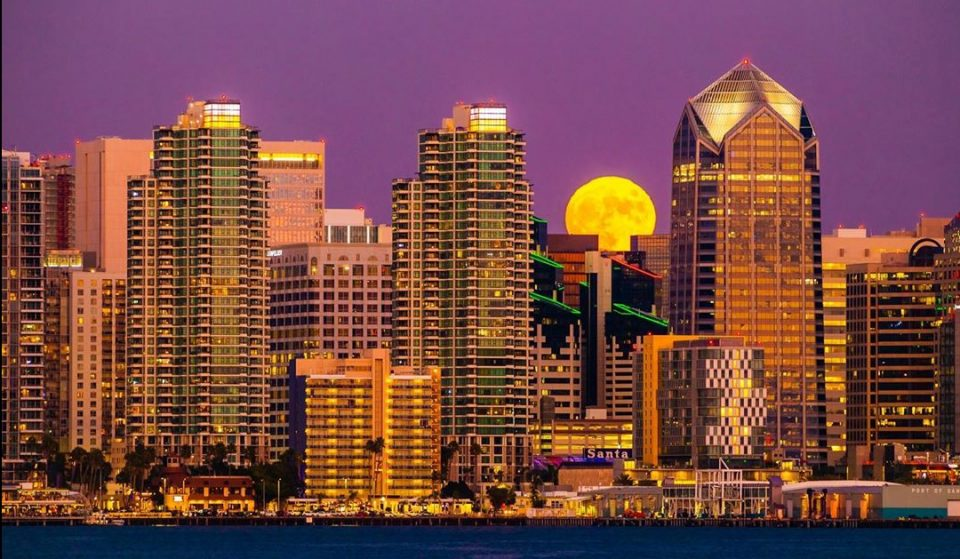 A Full 'Corn Moon' Will Shine Over The San Diego Skies This Evening