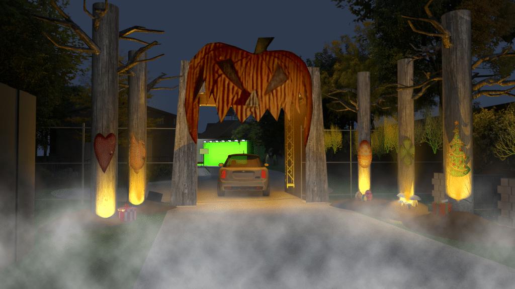 halloween drive-thru