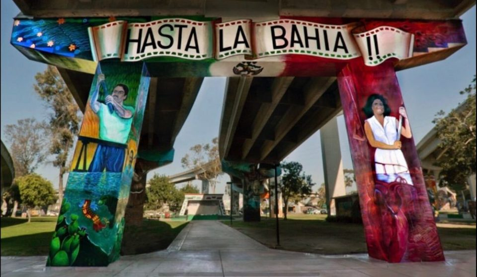 This Beautiful Park In The Heart Of Barrio Logan Celebrates San Diego's Vibrant Chicano Culture