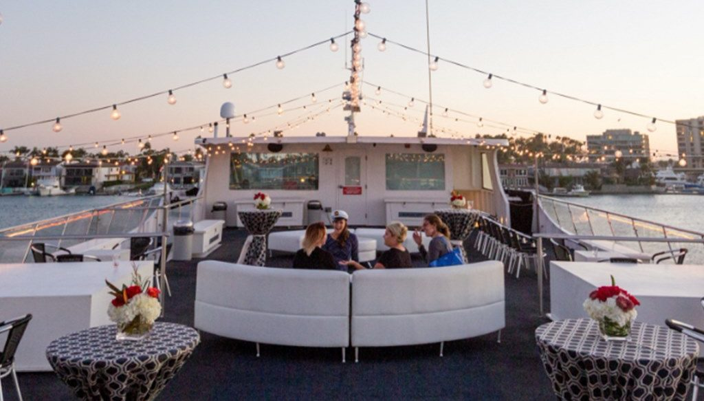There's A Floating Cinema Heading To San Diego, And It's A Luxurious Feast