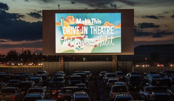 Have A Movie Night Under The Stars At This Vintage Drive-In Theater In South Bay