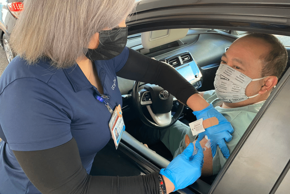 San Diego County Is Now Administering Vaccines To People 75 And Older