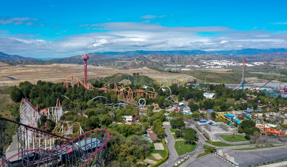 Six Flags Magic Mountain Plans To Reopen With Rides This Spring