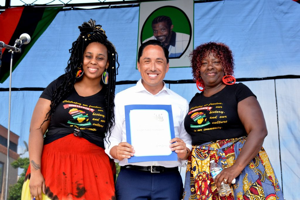 This Year's Cooper Family Juneteenth Celebration Will Be The First Time Juneteenth Is A Federal Holiday!
