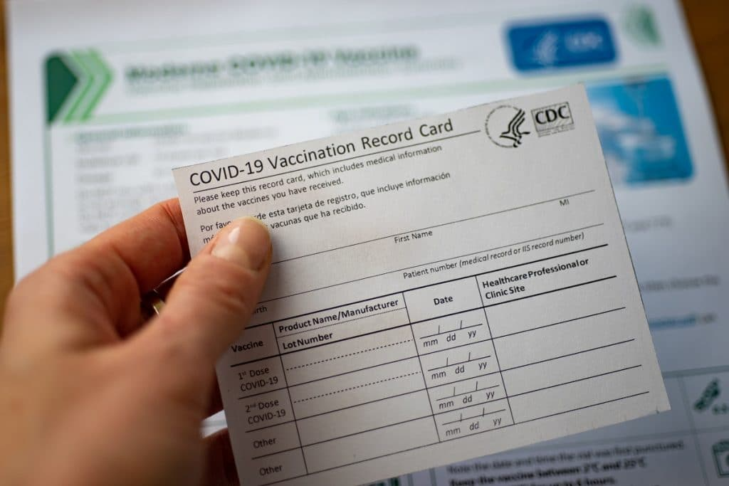 Here's How To Get Your Covid-19 Vaccine Card In Digital Form