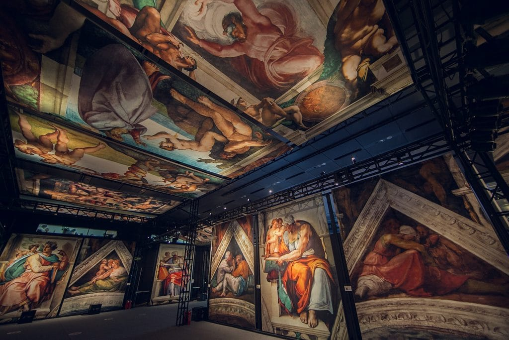 Tickets To San Diego's Stunning 360-Degree Exhibit of The Sistine Chapel Are Now On Sale