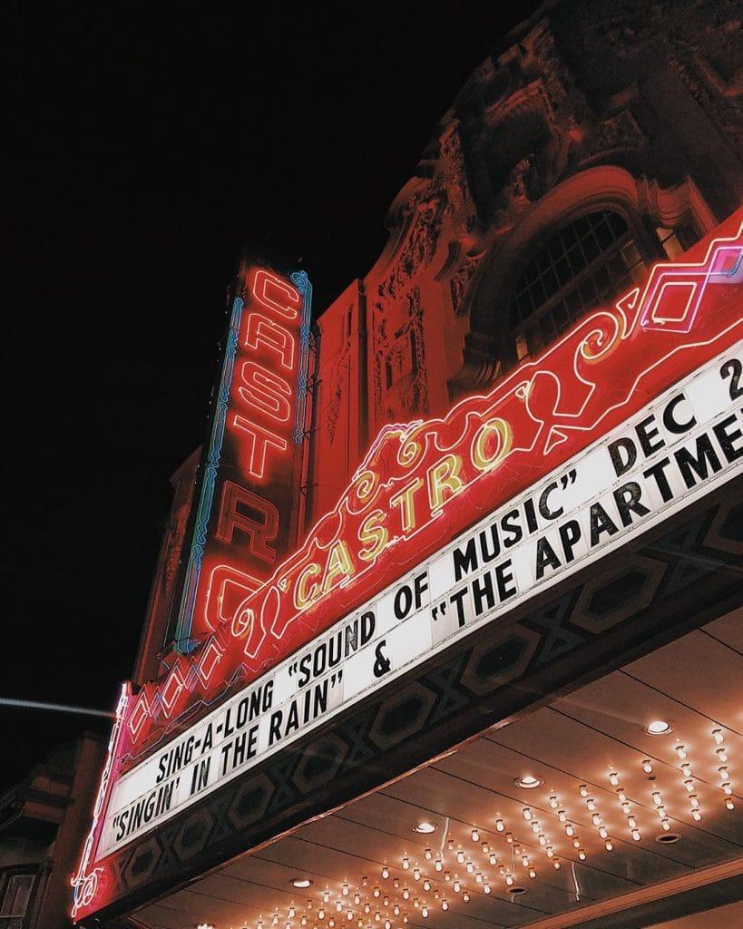 Castro Theatre Signage