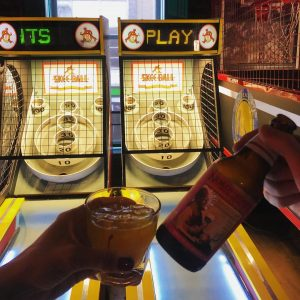 Arcade Games At The Golden Tap Room