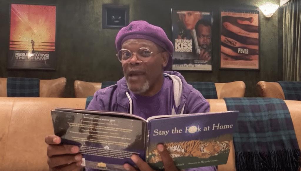 Samuel L. Jackson Stay The Fuck Home