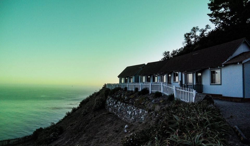 Fans Can Check Into These Creepy Cliffside Cabins Featured In 'Ratched'
