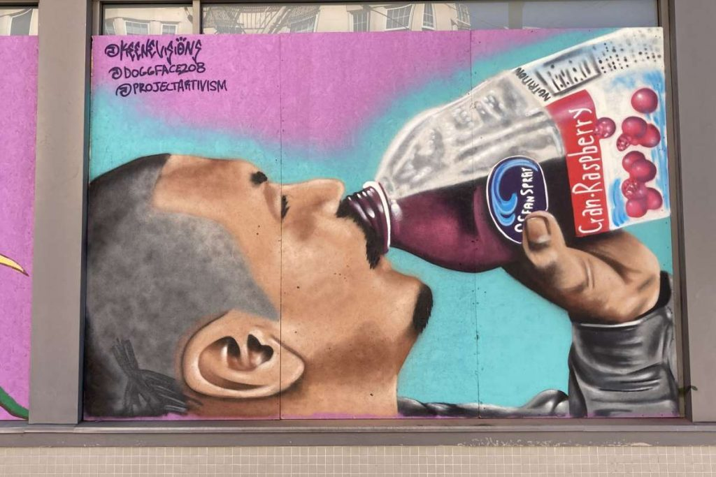 TikTok User-Turned-Legend DoggFace Is Immortalized By A Mural In Lower Haight