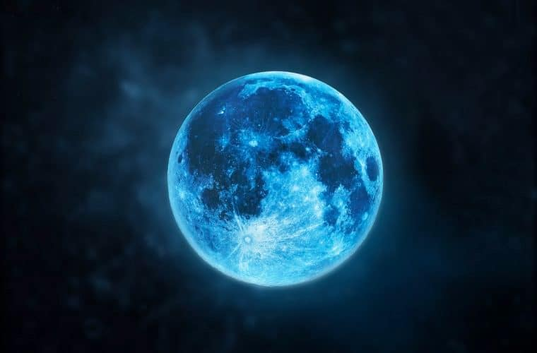 This Rare Blue Moon Falls On Halloween For The First Time In 2 Decades