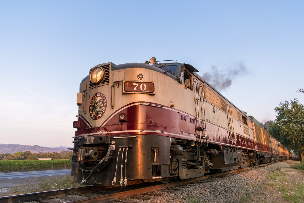Relive The Glory Days Of Travel On This Gourmet Vintage Wine Train Through Napa Valley