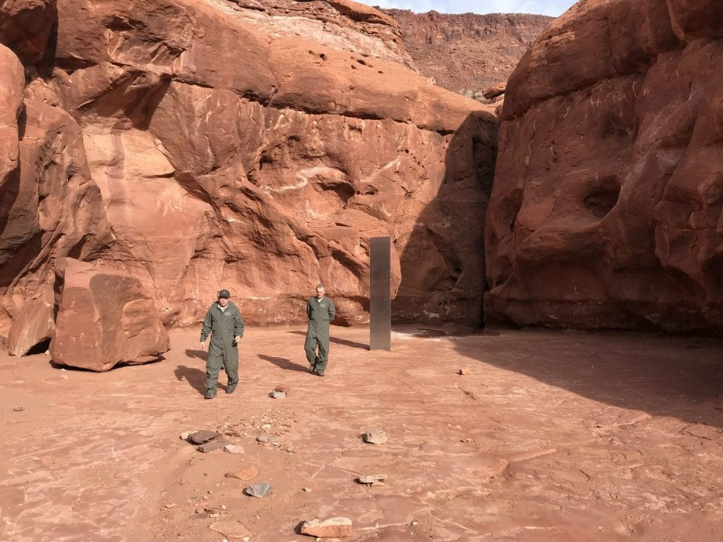 A 10-Foot Metal Monolith Was Discovered In Utah, And No One Knows Where It Came From
