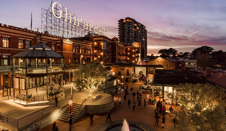 There's A Winter Wonderland Pop-Up Market And A Holiday Tree Stroll In Ghirardelli Square Today