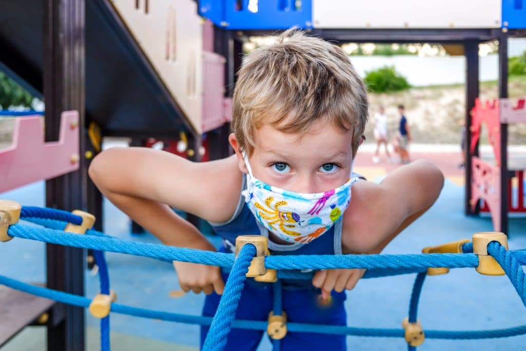 Playgrounds Reopen After An Amendment To The Regional Stay-At-Home Order