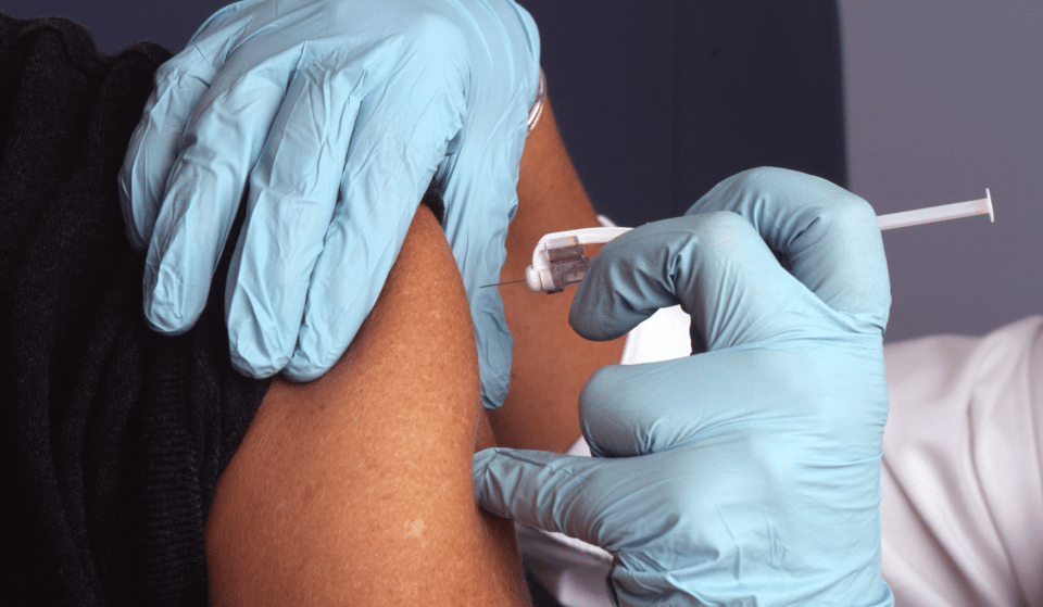 A Doctor At SF General Hospital Received The City's First Covid Vaccine Yesterday