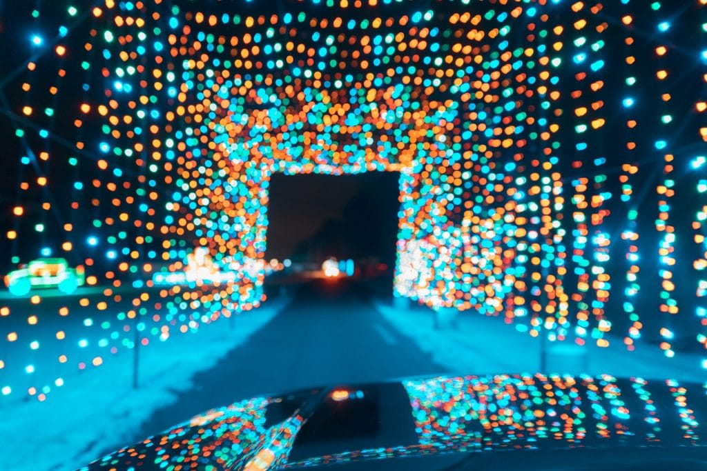 Drive Through Over Half A Mile Of Dazzling Lights At Santa Cruz County Fairgrounds
