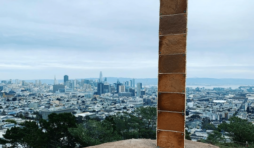 A Gingerbread Monolith Appeared In Corona Heights Park On Friday