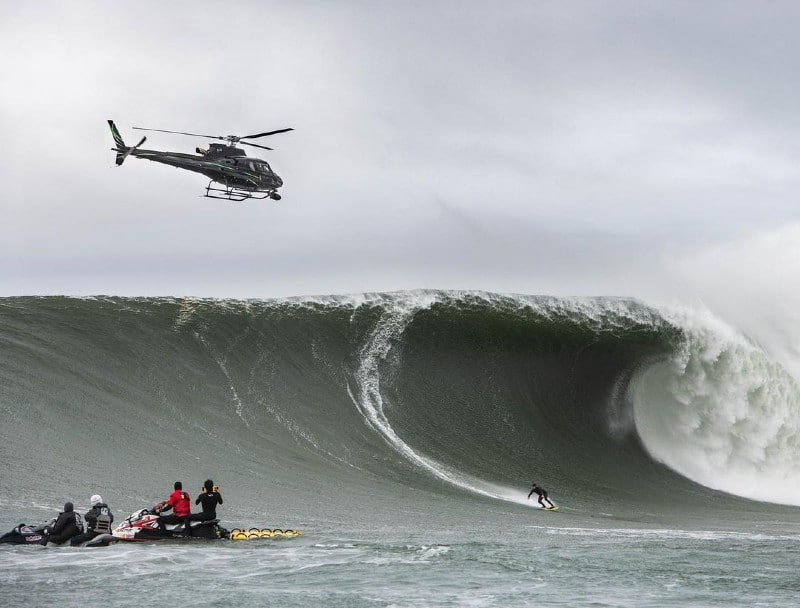 Gigantic Waves To Hit Bay Area On Friday