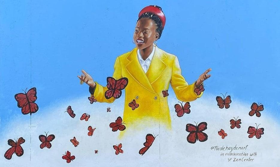 New SF Mural Honors National Youth Poet Laureate Amanda Gorman