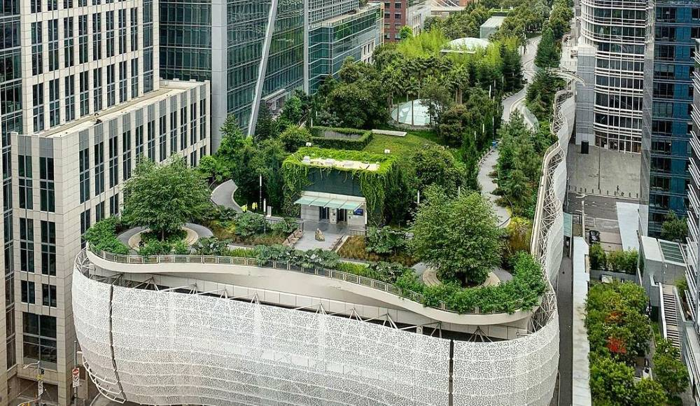 This Floating Park Is A Paradise Amid SF's Skyscrapers