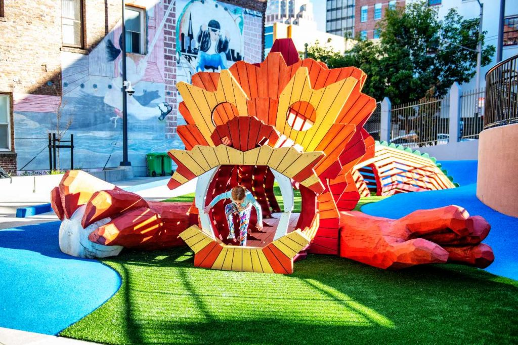 This Brand New SF Playground Is Inspired By Chinese Mythology