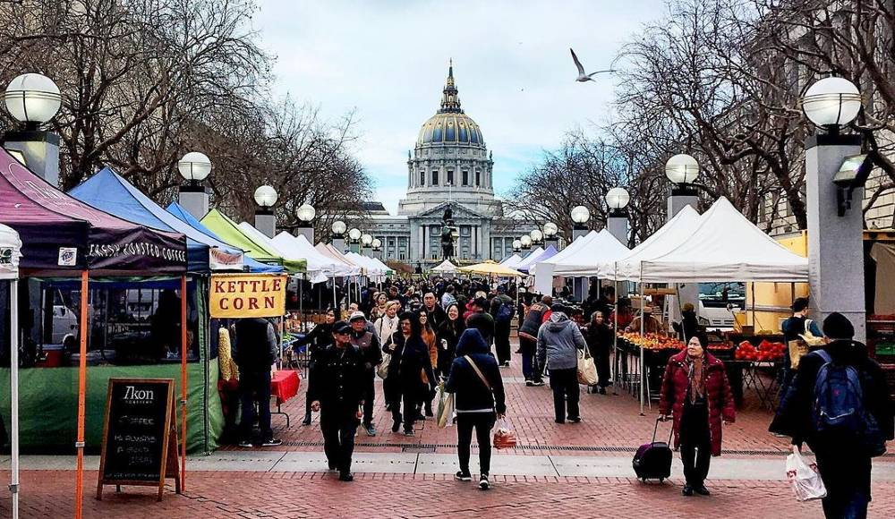 10 Bountiful SF Farmers' Markets To Visit This Weekend